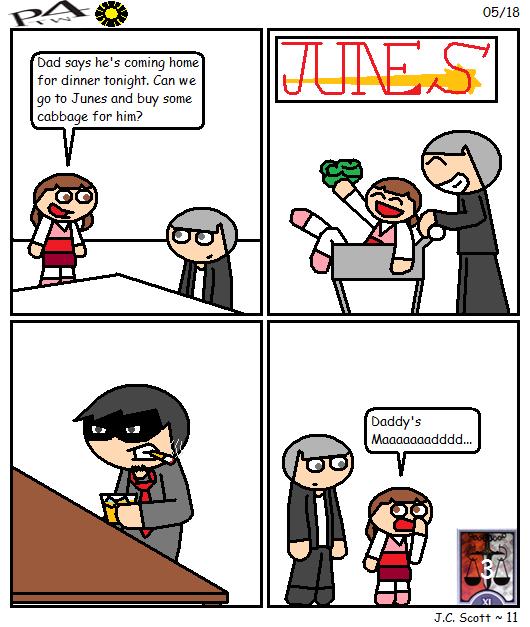 Justice Rank 3 - Nanako Dojima